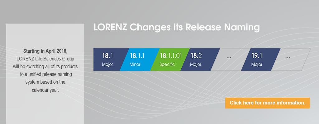 LORENZ Release Names