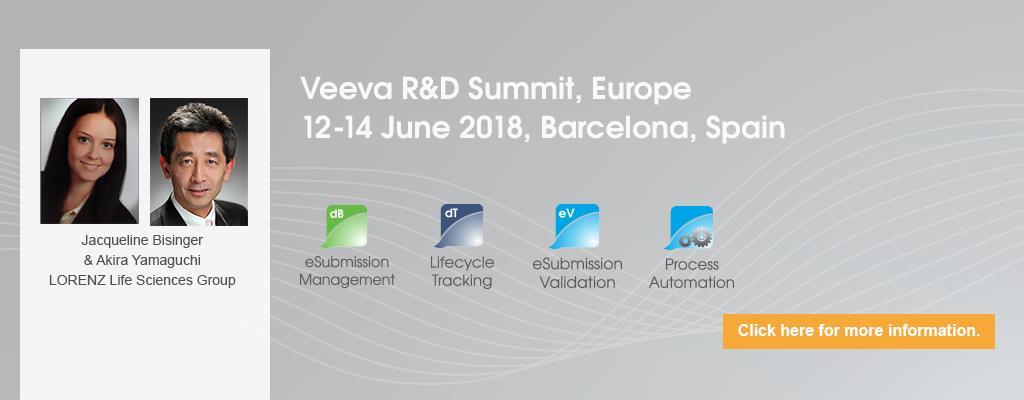 Veeva R&D Summit, Europe