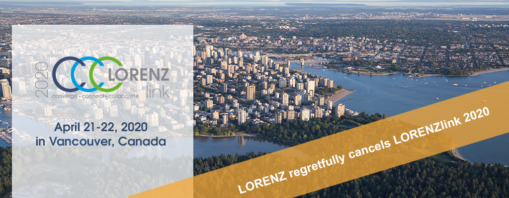LORENZlink 2020 - Join us - April 21-22, 2020 in Vancouver, Canada